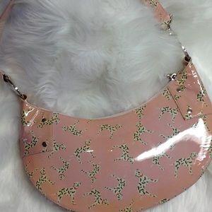 Rare Stuart Weitzman Dalmatian Dog purse.